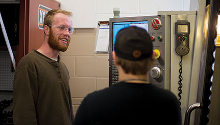 Josh Hultberg Anoka Tech Machining Instructor